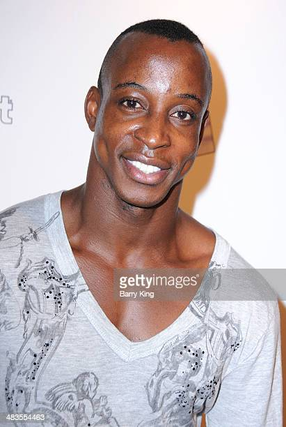Actor Shaka Smith arrives on the Los Angeles Premiere of 'Perfect Sisters' on April 8 2014 at Landmark Nuart Theatre in Los Angeles California