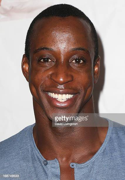 Actor Shaka Smith attends a Niecy Nash signing for her book It's Hard to Fight Naked at the Luxe Rodeo Drive Hotel on May 14 2013 in Beverly Hills...