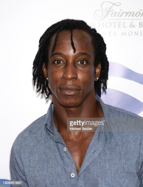 Actor Shaka Smith attends ScotWeek 2021 Opening Red Carpet at Fairmont Miramar - Hotel & Bungalows on March 29, 2021 in Santa Monica, California.