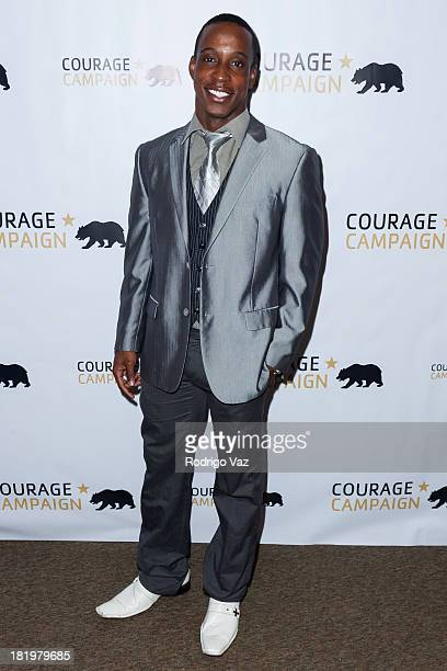 Actor Shaka Smith attends the 3rd Annual Spirit of Courage Awards at The Page Museum on September 26 2013 in Los Angeles California