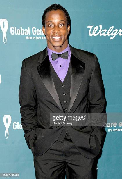 Actor Shaka Smith attends the 4th Annual RARE Tribute To Champions Of Hope Gala on September 26 2015 in Huntington Beach California