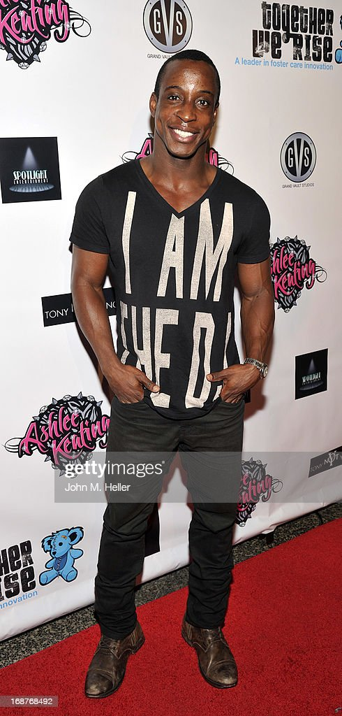 Actor Shaka Smith attends the debut release of Ashlee Keating's new single and the release of her new video at the Avalon on May 14, 2013 in Hollywood, California.