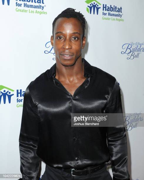 Actor Shaka Smith attends the Habitat LA 2018 Los Angeles Builders Ball at The Beverly Hilton Hotel on September 27 2018 in Beverly Hills California
