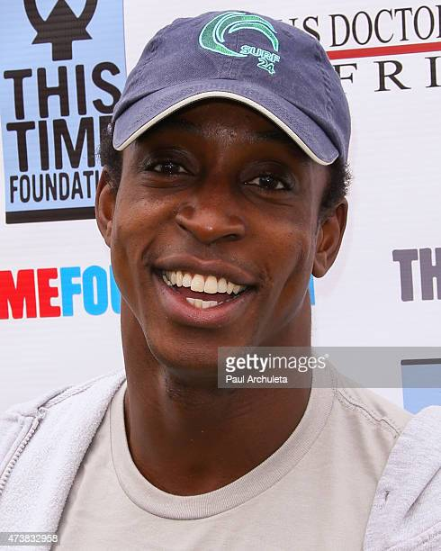 Actor Shaka Smith attends the Relief Run to raise funds for Nepal victims on May 17 2015 in Santa Monica California