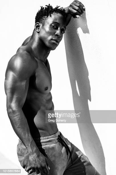 Actor Shaka Smith attends the TAP The Artists Project Giveback Day on August 8 2018 in Los Angeles California