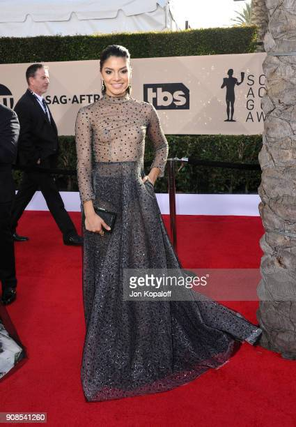 Actor Shakira Barrera attends the 24th Annual Screen ActorsGuild Awards at The Shrine Auditorium on January 21, 2018 in Los Angeles, California.