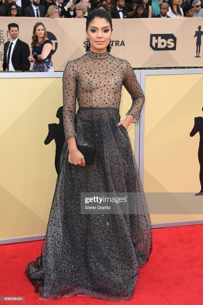 Actor Shakira Barrera attends the 24th Annual Screen Actors Guild Awards at The Shrine Auditorium on January 21, 2018 in Los Angeles, California.