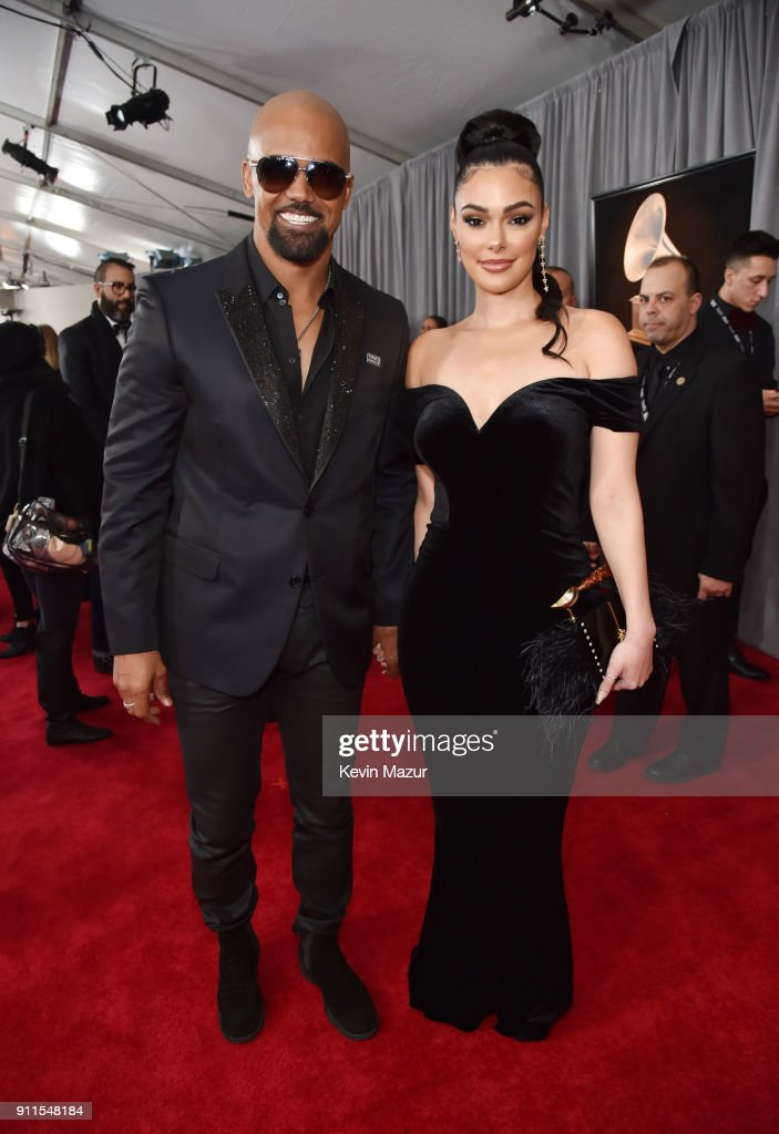 Actor Shamar Moore (L) attends the 60th Annual GRAMMY Awards at Madison Square Garden on January 28, 2018 in New York City.