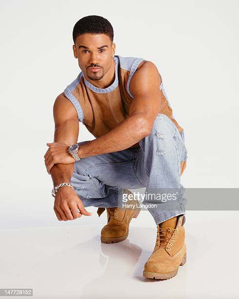 Actor Shamar Moore poses for a portrait session in 2010 in Los Angeles California