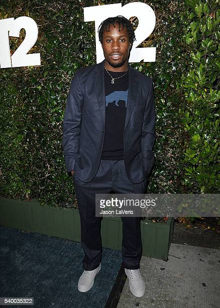 Actor Shameik Moore attends TakeTwo's annual E3 kickoff party at Cecconi's Restaurant on June 13 2016 in Los Angeles California