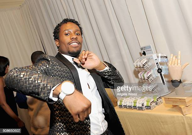 Actor Shameik Moore attends the Backstage Creations Celebrity Retreat at The 47th NAACP Image Awards at Pasadena Civic Auditorium on February 5 2016...
