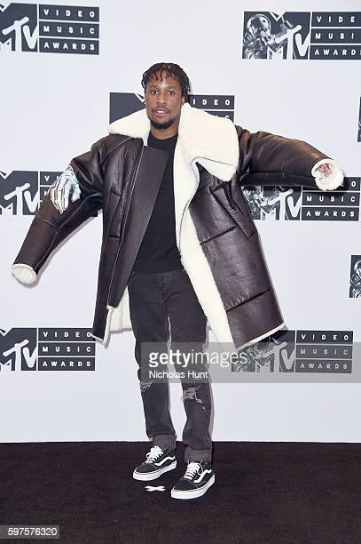 Actor Shameik Moore attends the Press Room at the 2016 MTV Video Music Awards at Madison Square Garden on August 28 2016 in New York City