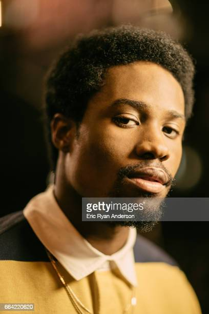 Actor Shameik Moore is photographed for The Hollywood Reporter on October 22 2016 in New York City PUBLISHED IMAGE