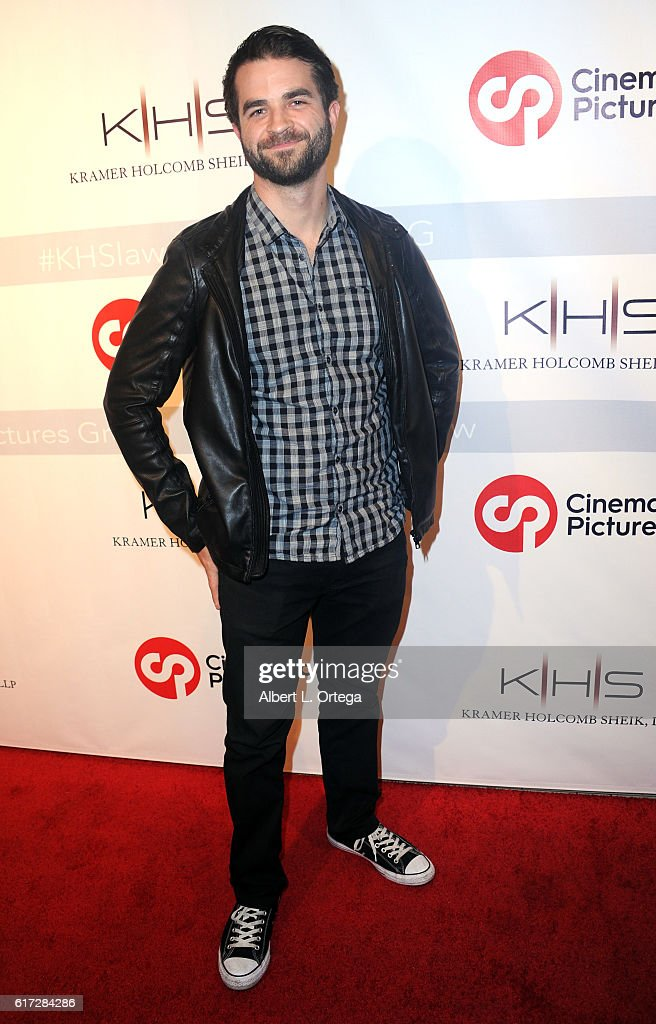 Actor Shane Brady at the Launch Of Cinematic Pictures Gallery held at Hollywood And Highland Center on October 21, 2016 in Los Angeles, California.