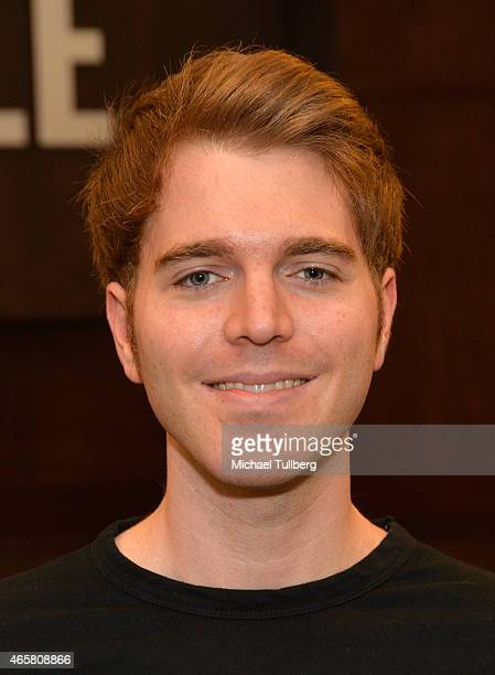 Actor Shane Dawson attends an event for his book I Hate Myselfie at Barnes Noble bookstore at The Grove on March 10 2015 in Los Angeles California