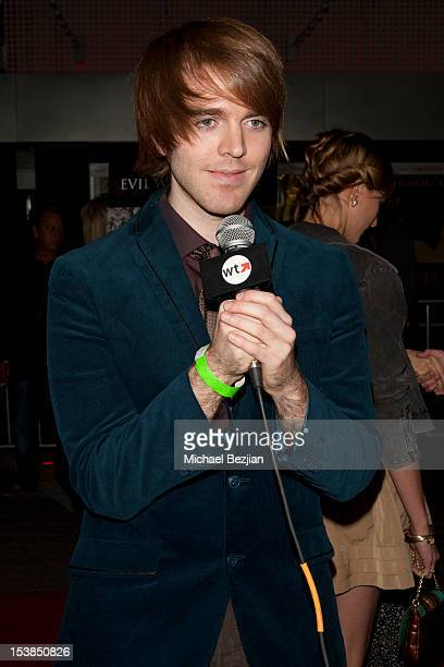 Actor Shane Dawson attends Smiley Los Angeles Premiere at AMC Universal City Walk on October 9 2012 in Universal City California