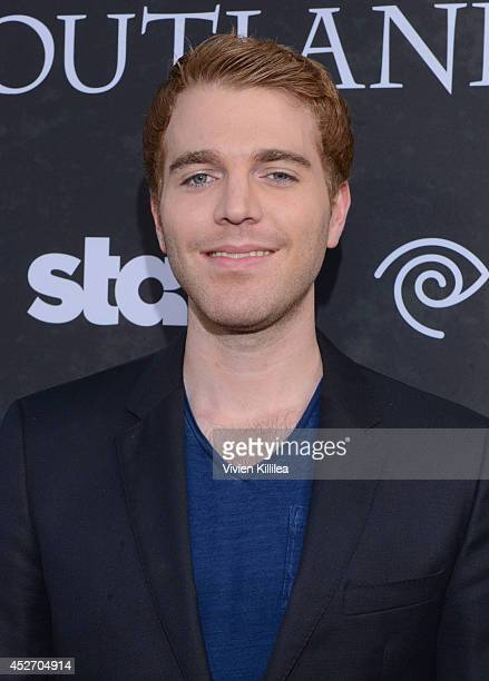 Actor Shane Dawson attends the Starz Series Outlander Premiere ComicCon International 2014 at Spreckels Theatre on July 25 2014 in San Diego...