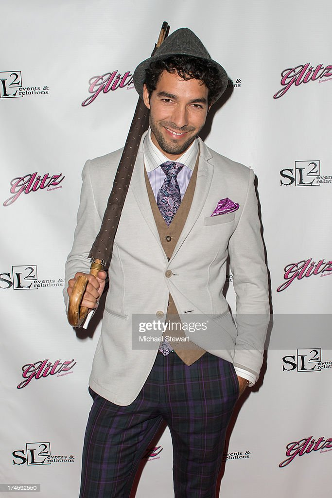 Actor Shane Duffy attends Johnny Weir & Victor Weir-Voronov's Birthday Celebration at Soho Grand Hotel on July 27, 2013 in New York City.