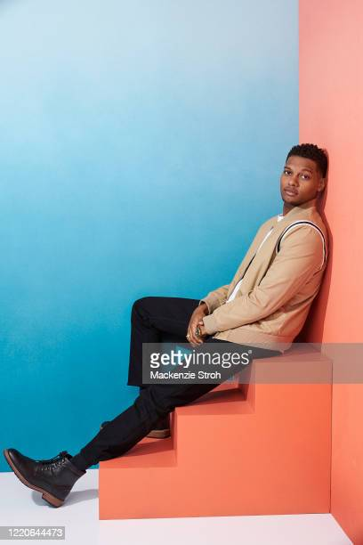 Actor Shane Paul McGhie is photographed for Entertainment Weekly Magazine on February 27, 2020 at Savannah College of Art and Design in Savannah,...