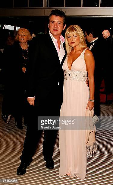 Actor Shane Richie and Christie Goddard arrives at the National Movie Awards at the Royal Festival Hall on September 28 2007 in London England