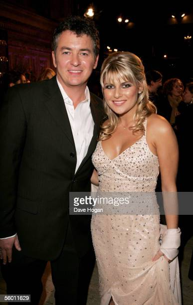 Actor Shane Richie and his partner Christie Goddard attend the aftershow party following the National Television Awards 2005 at the Royal College of...