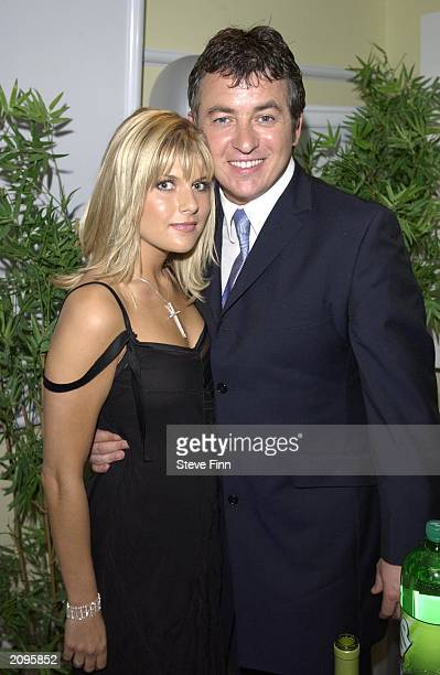 Actor Shane Ritchie and girlfriend Christie Goddard in the pressroom at the 5th Annual British Soap Awards in London on May 10th 2003 Viewers voted...