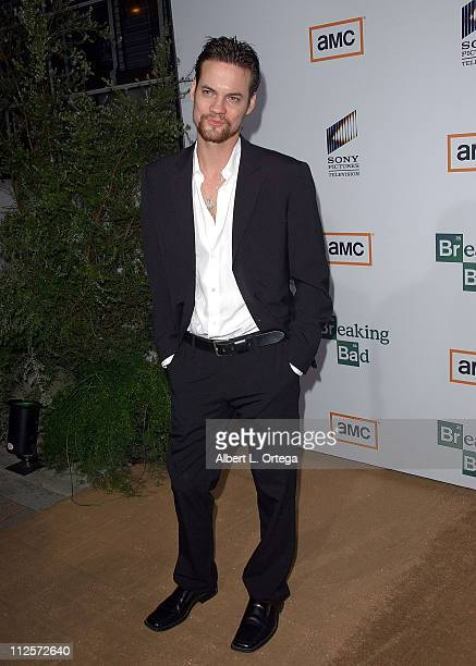 Actor Shane West arrives at the Premiere Screening of AMC's new Sony Pictures' Television drama Breaking Bad held on January 15 2008 at The Cary...