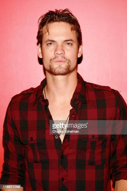 Actor Shane West attends the New York premiere of What We Do is Secret at the Landmark Sunshine Cinemas on August 8 2008 in New York City