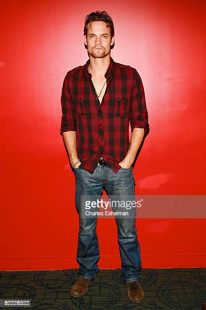 Actor Shane West attends the New York premiere of 'What we do is Secret' at the Landmark Sunshine Cinemas on August 8 2008 in New York City