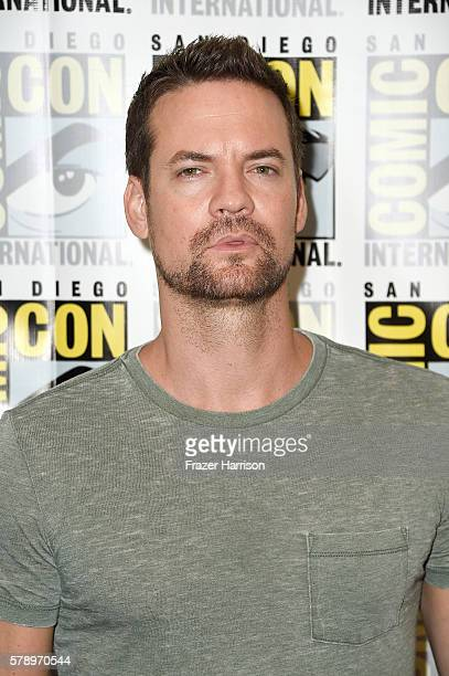 Actor Shane West attends WGN's 'Salem' Press Line during ComicCon International 2016 at Hilton Bayfront on July 22 2016 in San Diego California