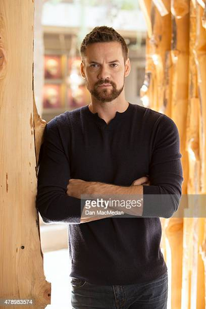 Actor Shane West is photographed at Toca Madera restaurant for The Wrap on June 2 2015 in Los Angeles California