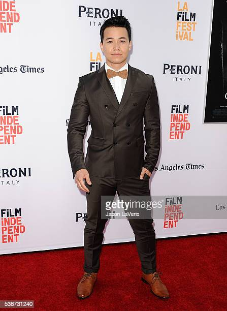 Actor Shannon Kook attends the premiere of The Conjuring 2 at the 2016 Los Angeles Film Festival at TCL Chinese Theatre IMAX on June 7 2016 in...