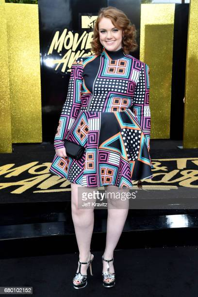 Actor Shannon Purser attends the 2017 MTV Movie And TV Awards at The Shrine Auditorium on May 7 2017 in Los Angeles California