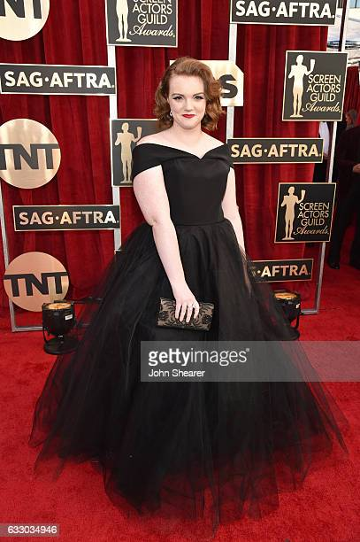 Actor Shannon Purser attends The 23rd Annual Screen Actors Guild Awards at The Shrine Auditorium on January 29 2017 in Los Angeles California