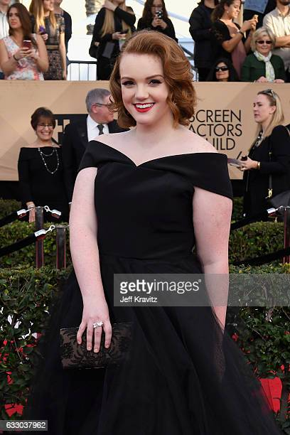 Actor Shannon Purser attends the 23rd Annual Screen Actors Guild Awards at The Shrine Expo Hall on January 29 2017 in Los Angeles California