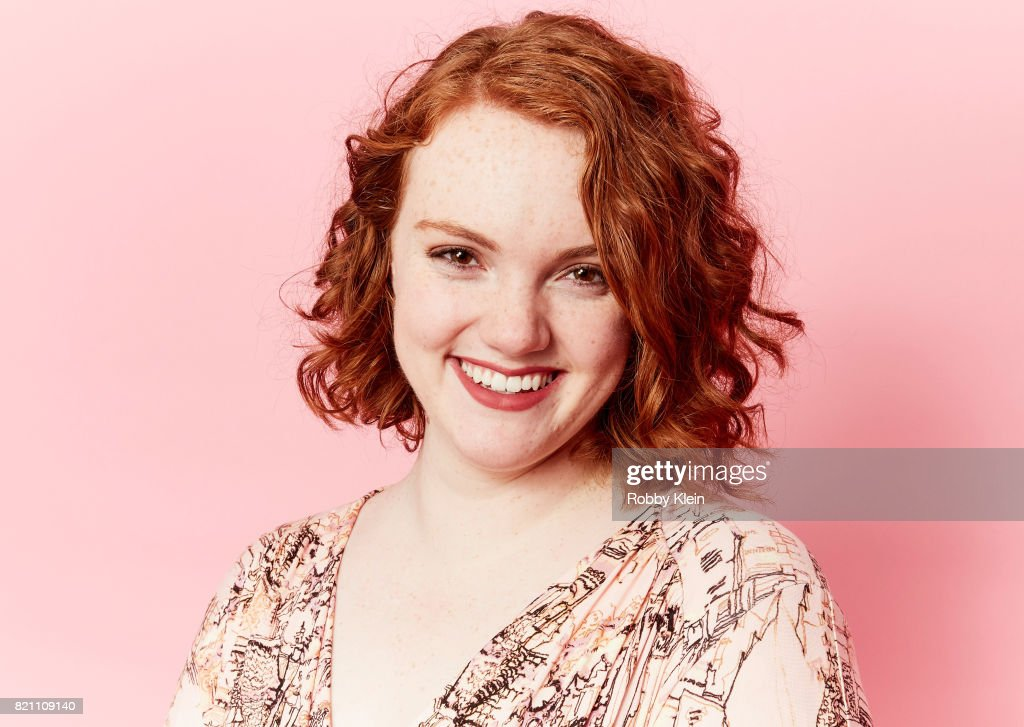 Actor Shannon Purser from Netflix's 'Stranger Things' poses for a portrait during Comic-Con 2017 at Hard Rock Hotel San Diego on July 22, 2017 in San Diego, California.