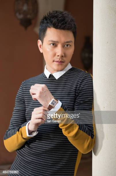 Actor Shaofeng Feng of 'Huang jin shi dai' poses for a portrait wearing a JaegerLeCoultre watch during the 71st Venice Film Festival at the Excelsior...