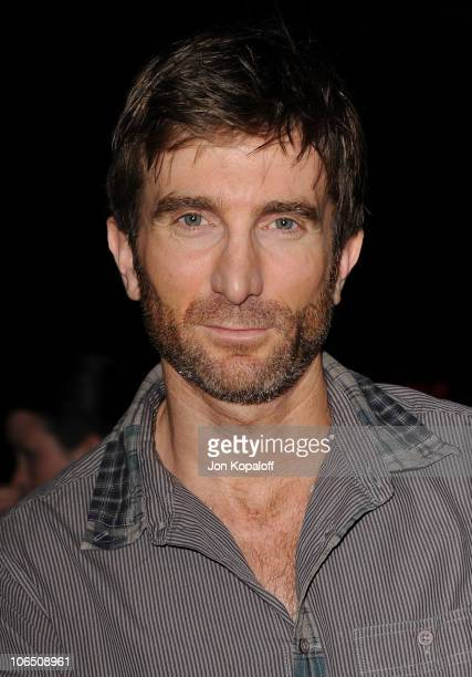 Actor Sharlto Copley arrives at the Los Angeles Premiere 127 Hours at AMPAS Samuel Goldwyn Theater on November 3 2010 in Beverly Hills California