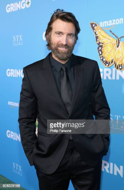 Actor Sharlto Copley attends the world premiere of 'Gringo' from Amazon Studios and STX Films at Regal LA Live Stadium 14 on March 6 2018 in Los...