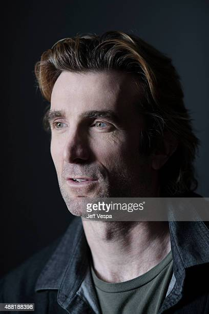 Actor Sharlto Copley from Hardcore poses for a portrait at the 2015 Toronto Film Festival at the TIFF Bell Lightbox on September 12 2015 in Toronto...