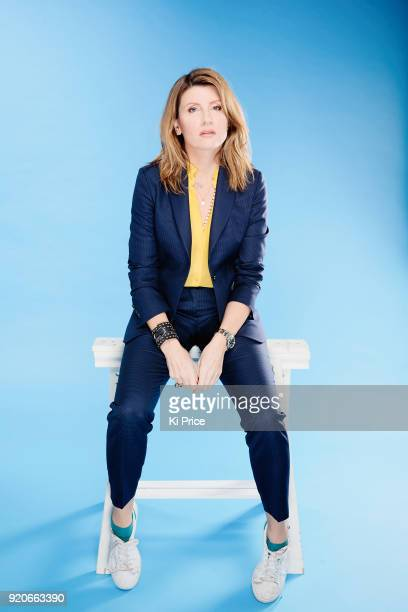 Actor Sharon Horgan is photographed for the Times on October 30 2017 in London England