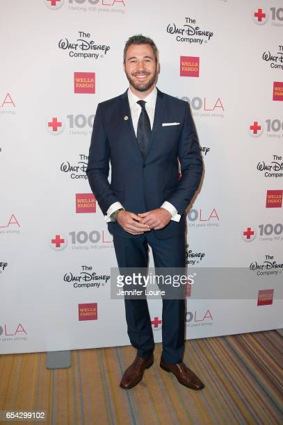 """Actor Sharone Hakman attends the American Red Cross Centennial Celebration to Honor Disney as the """"Humanitarian Company of The Year"""" at the Beverly..."""