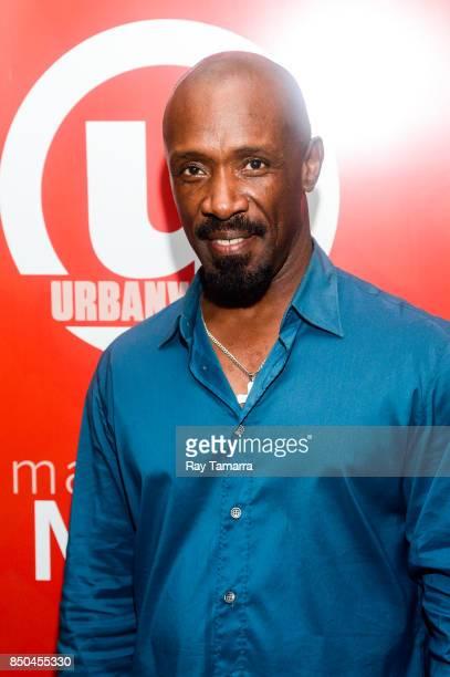 Actor Shaun Baker of 'Atone' attends the 21st Annual Urbanworld Film Festival opening night reception at The Skylark on September 20 2017 in New York...