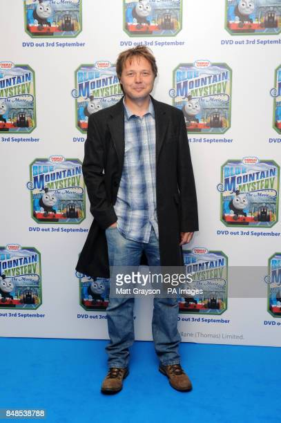 Actor Shaun Dooley arriving at the premiere of Thomas and Friends Blue Mountain Mystery at Vue Cinema Leicester Square London PRESS ASSOCIATION Photo...