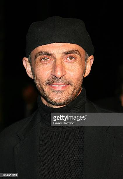 Actor Shaun Toub arrives at the Paramount Pictures' Premiere Of 'Zodiac' held at Paramount Studios on March 12007 in Los Angeles California