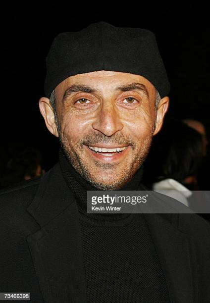 Actor Shaun Toub arrives at the premiere of Paramount Picture's 'Zodiac' at the Paramount Theatre on March 1 2007 in Los Angeles California