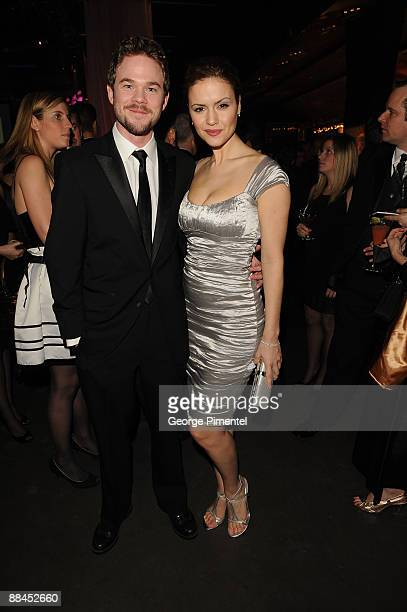 Actor Shawn Ashmore and actress Lisa Marcos attend Canadian Film Centre 2009 Gala and Auction>> at the Kool Haus on February 11, 2009 in Toronto,...