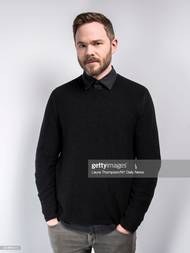 Actor Shawn Ashmore photographed for NY Daily News on April 24, 2017, in New York City.