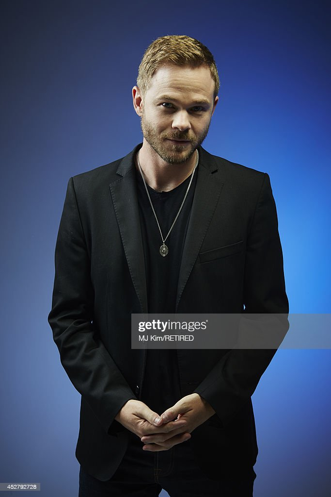 Actor Shawn Ashmore poses for a portrait at the Getty Images Portrait Studio Powered By Samsung Galaxy at Comic-Con International 2014 at Hard Rock Hotel San Diego on July 27, 2014 in San Diego, California.