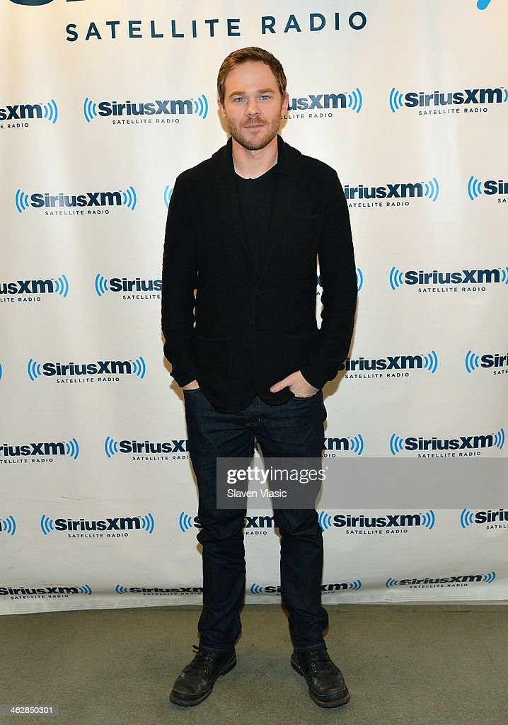 Actor Shawn Ashmore visits SiriusXM Studios on January 15, 2014 in New York City.